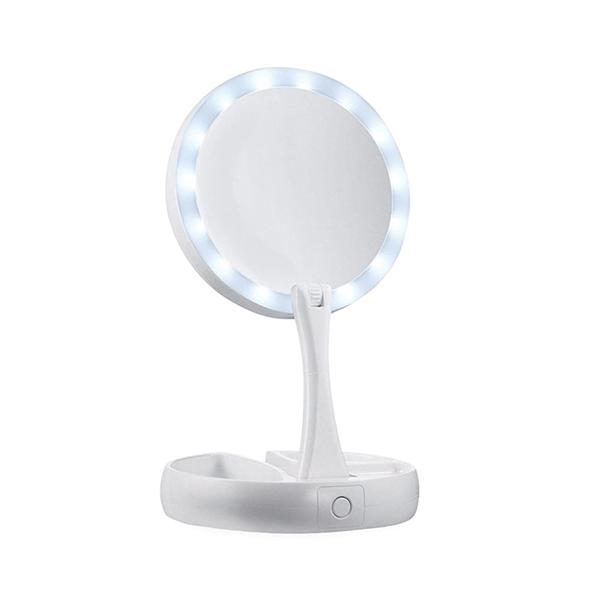 Állítható sminktükör és LED lámpa (1)