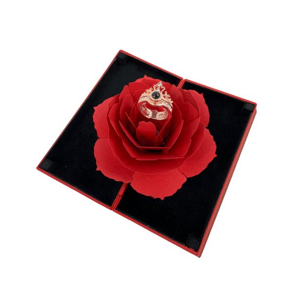 100% szerelem gyűrű rózsabox (5)