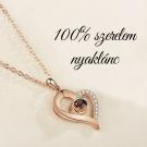 100% szerelem nyaklánc