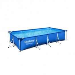 Bestway Steel Pro fémvázas medence vízforgatóval - 400 x 211 x 81 cm