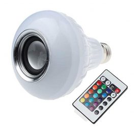 Bluetooth hangszórós LED izzó