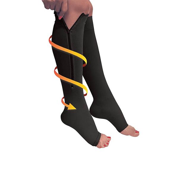 Cipzáros kompressziós zokni_1