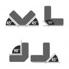 Hegesztőmágnes - 45°-90°-135° - max. 9 kg