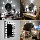 Hollywood LED izzósor tükörre
