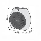 Hordozható ventilátoros fűtőtest