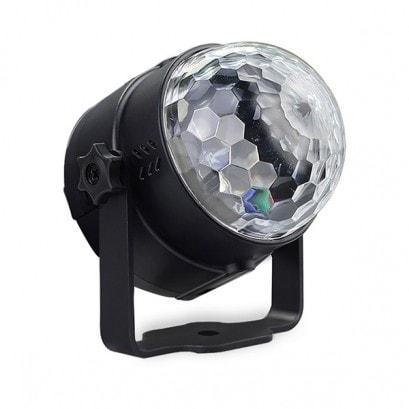 Kristálygömb - LED party fény1