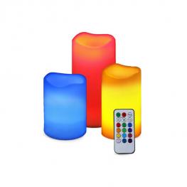 LED gyertya távirányítóval