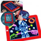 Magic Sketchpad készségfejlesztő, világító rajztábla