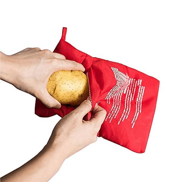 Mikrózható burgonya gyorsfőző zsák (10)