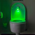 Mozgásérzékelős toalett LED világítás