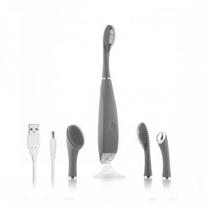 Szonikus fogkefe és arcápoló készülék