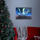 Téli LED-es hangulatkép