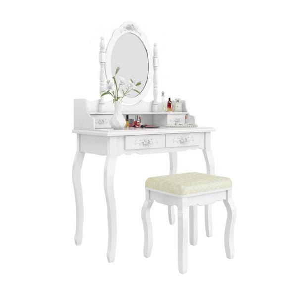Tükrös fésülködő asztal székkel5