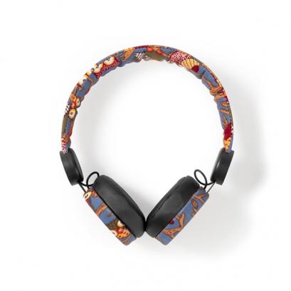 Vezetékes fejhallgató - állatmintás