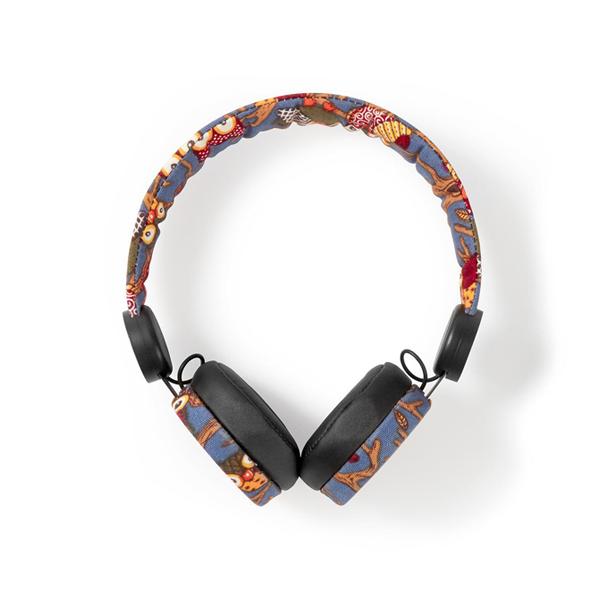 Vezetékes fejhallgató – állatmintás