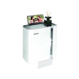 WC-papír tartó szekrény - Fehér - 248 x 130 x 230 mm